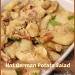 Hot German Potato Salad -- A Pinch of Joy