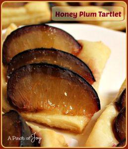 Honey Plum Tartlet