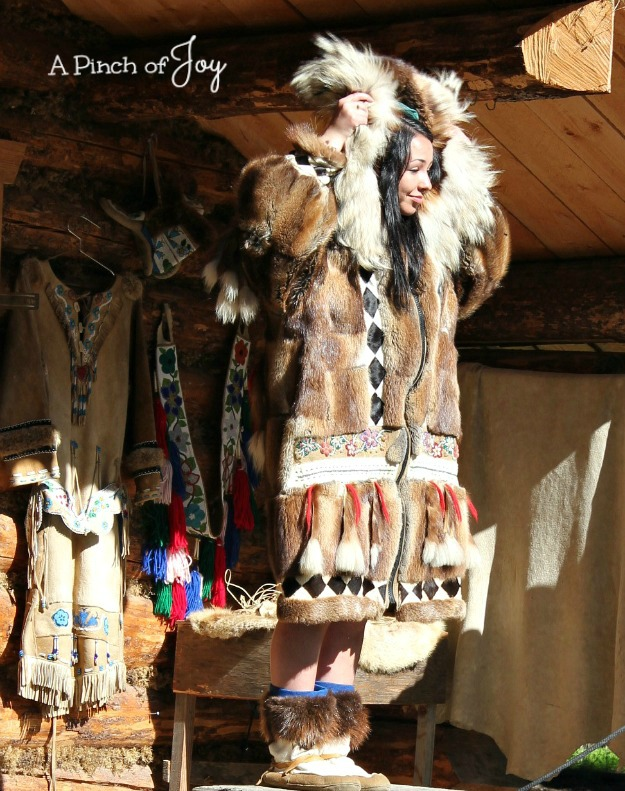 Native Alaskan fur coat -- A Pinch of Joy