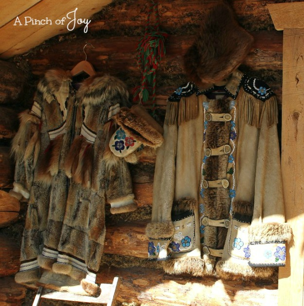 Native Alaskan Coats -- A Pi