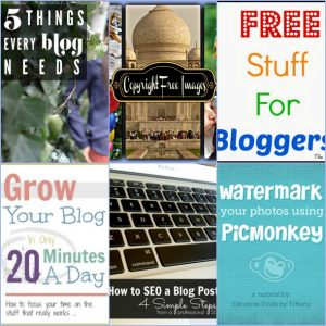 Blogging help, how to and more – Roundup