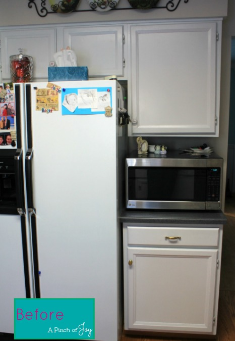 Before Kitchen Remodel 1 -- A Pinch of Joy