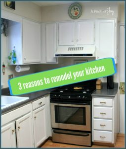 3 Reasons to Remodel Your Kitchen -- A Pinch of Joy