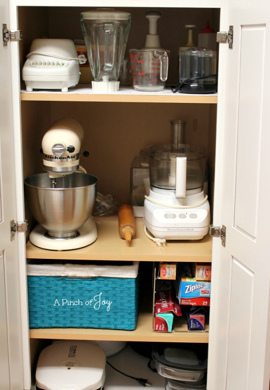 Improve Kitchen Storage - A Pinch of Joy
