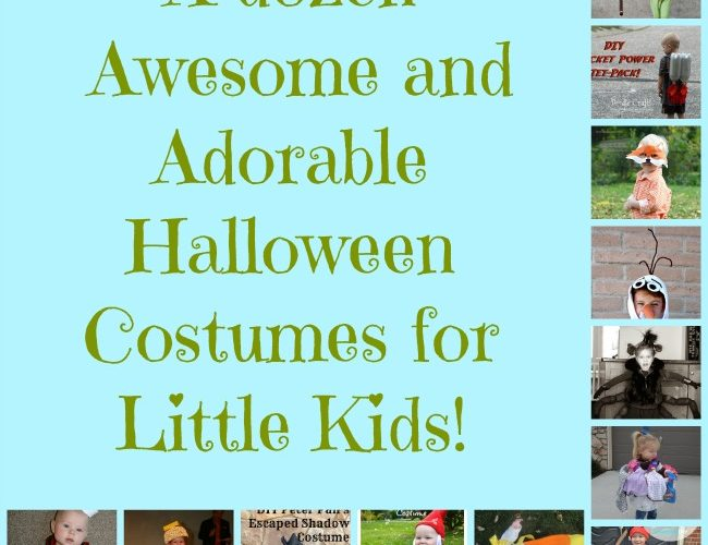 A Dozen Awesome and Adorable Halloween Costumes for Little Kids