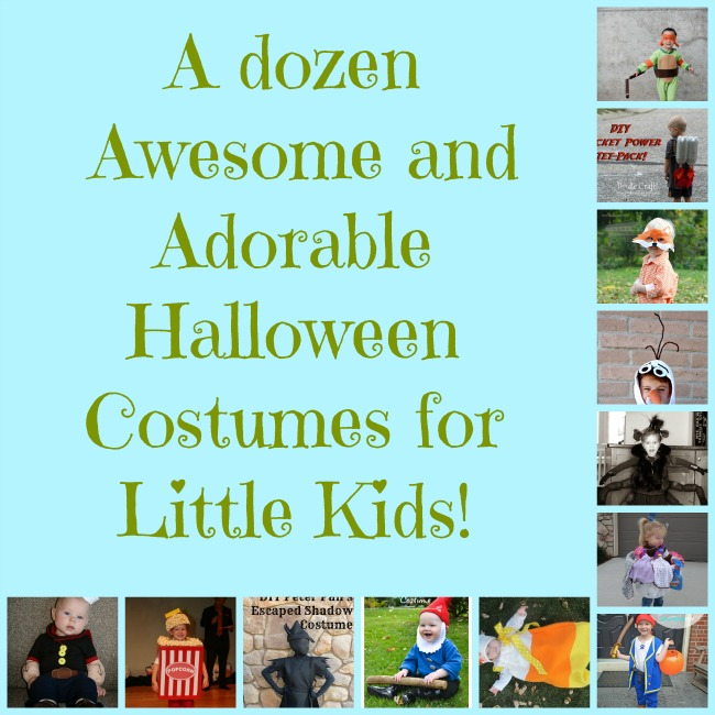 A Dozen Awesome and Adorable Halloween Costumes for Little Kids -- A Pinch of Joy