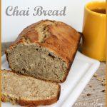 Chai Bread -- A Pinch of Joy