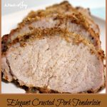 Elegant Crusted Pork Tenderloin -- A Pinch of Joy