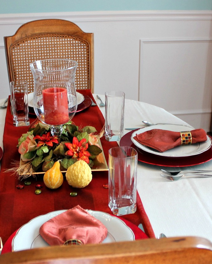 Table setting -- A Pinch of Joy