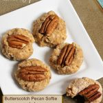 Butterscotch Pecan Softie -- no bake from A Pinch of Joy