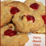 Cherry Almond Chews -- A Pinch of Joy