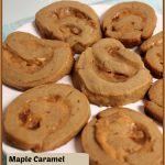Maple Caramel Swirl Cookies -- A Pinch of Joy