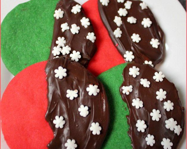 Minty Christmas Cookies
