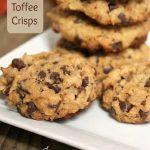 Toffee Crisps - A Pinch of Joy