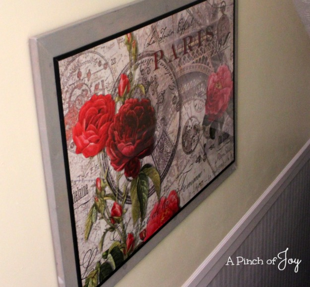 How to Frame A Poster -- A Pinch of Joy