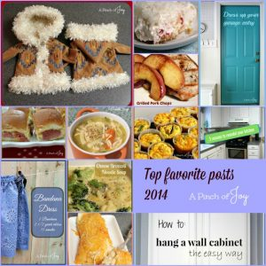 top favorite posts 2014 -- A Pinch of Joy
