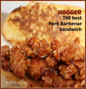 THE best Pork Barbecue Sandwich -- A Pinch of Joy