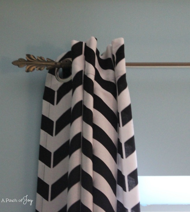 Broken Chevron Curtains