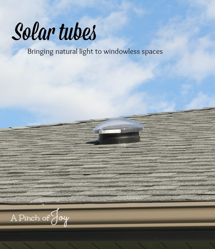 Solar light tubes - A Pinch of Joy