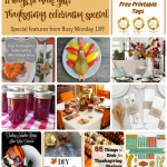 11 Ways to Make your Thanksgiving Special --A Pinch of Joy
