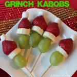 Grinch Kabobs -- A Pinch of Joy