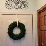 Garage Entry Door Painted -- A Pinch of Joy