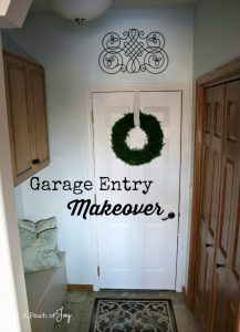 Garage Entry -- A Pinch of Joy