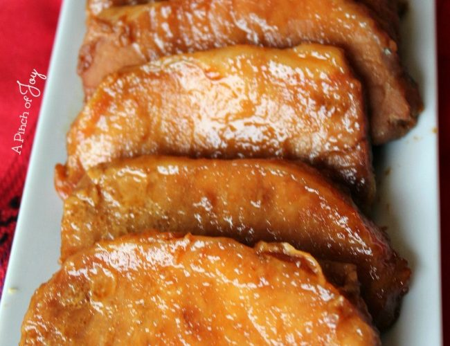 Orange Glazed Pork Chops