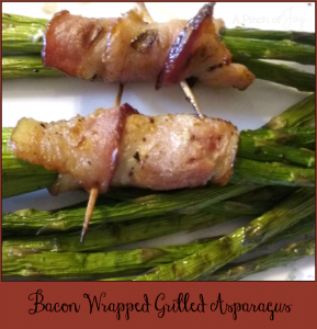 Bacon Wrapped Grilled Asparagus -- A Pinch of Joy