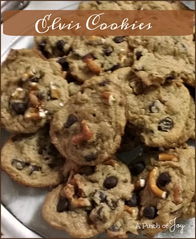 Elvis Cookies -- A Pinch of Joy