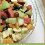 Fruit Salad with lemonade dressing -- A Pinch of Joy