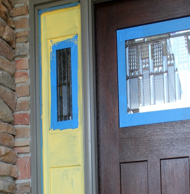 Front Door Makeover and the Five Stages of a DIY Project: Stage 3 Doubt -- A Pinch of Joy