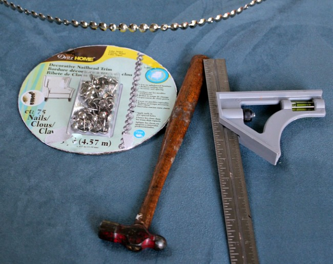 1Tools needed to apply nailhead trim -- A Pinch of Joy