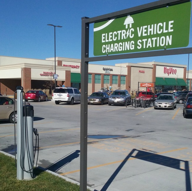 Electric Vehicle Charging Station -- A Pinch of Joy