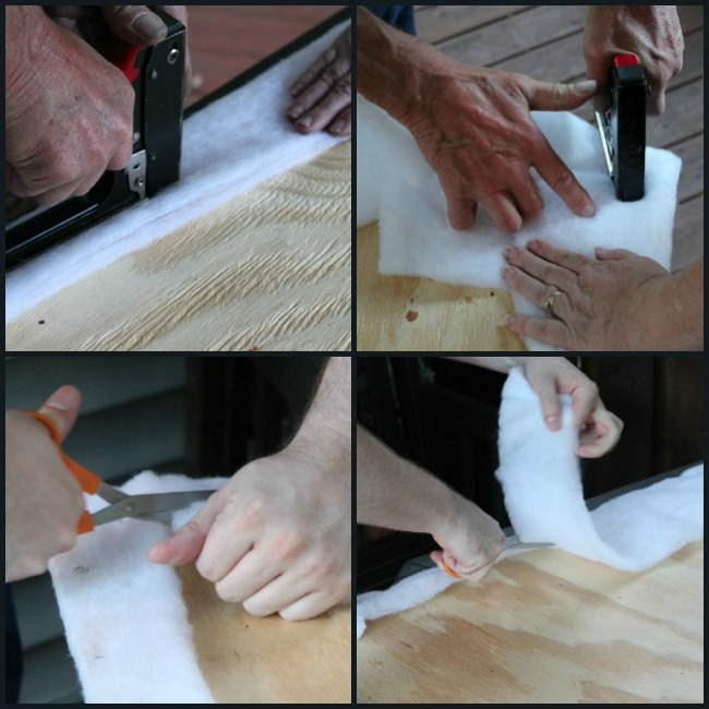 staple-batting-to-plywood