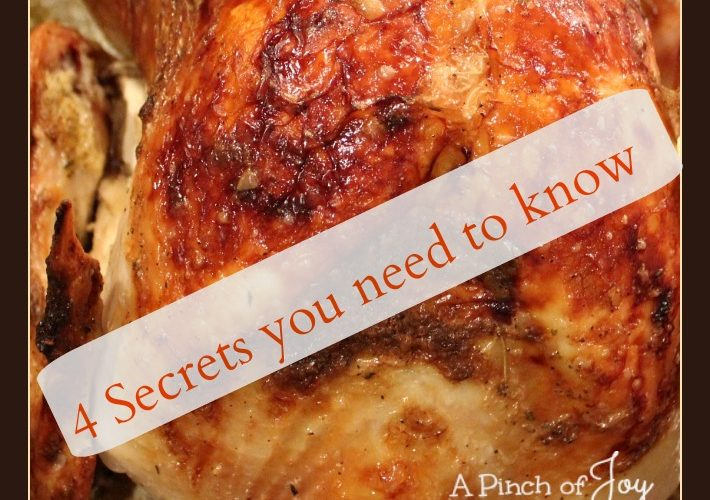 Four Secrets to Roasting a Moist and Tender Turkey