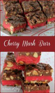 Cherry Mash Bars