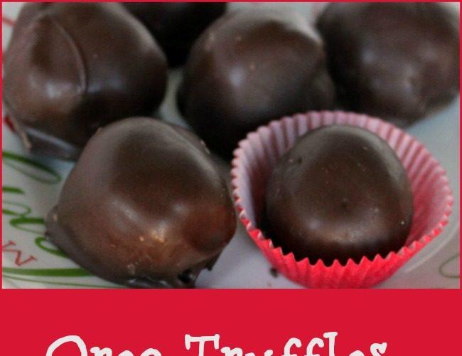 Classic Oreo Truffles