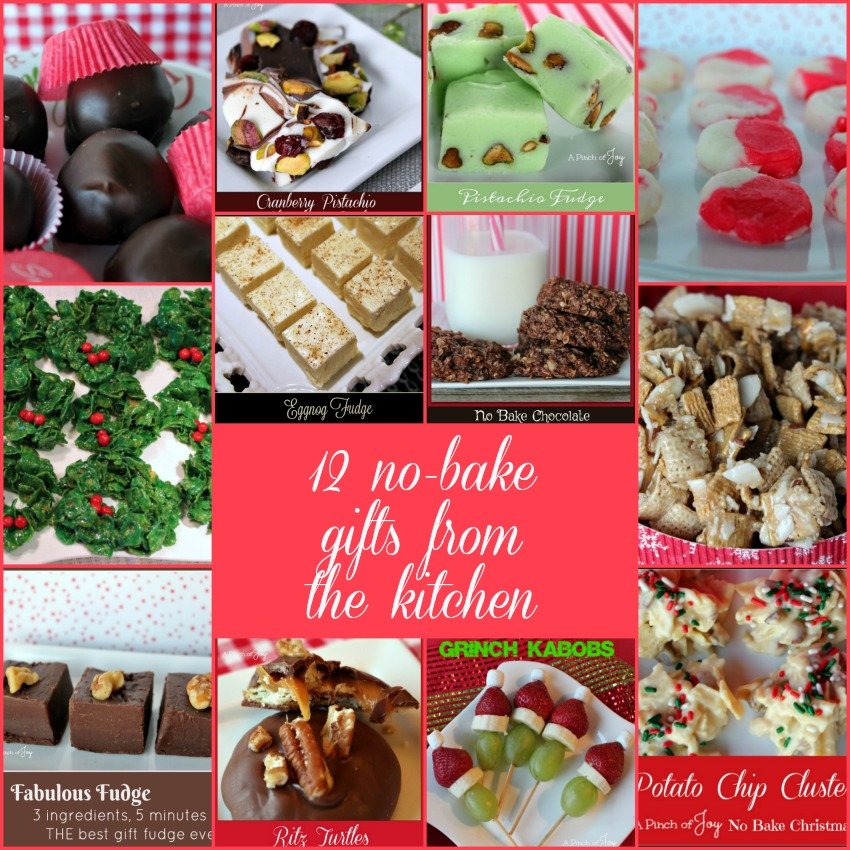 12 no bake gifts from the kitchen -- A Pinch of Joy