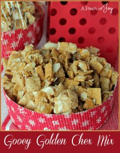 Gooey Golden Chex Mix