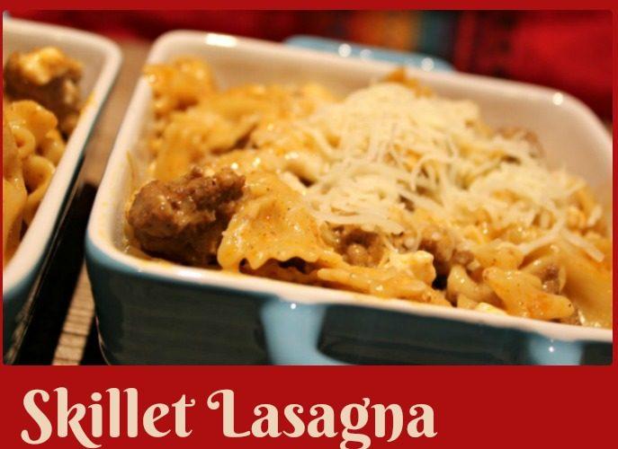 Skillet Lasagna Mexicana