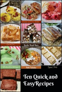 Top Ten Recipes 2016