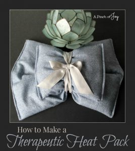 How to Make A Therapeutic Heat Pack : The Ultimate Guide