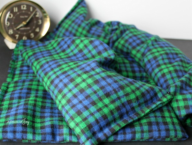 4Plaid Theraupeutic Heat Pack -- A Pinch of Joy