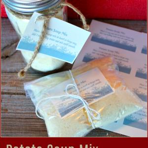 Potato Soup Mix Gift In A Jar