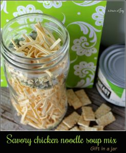 Savory Chicken Noodle Soup Mix