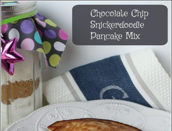Chocolate Chip Snickerdoodle Pancake Mix