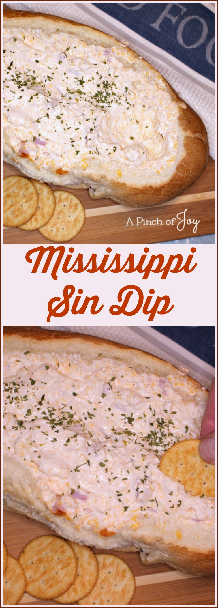 Mississippi Sin Dip -- A Pinch of Joy Creamy, melty, and so Sinfully good
