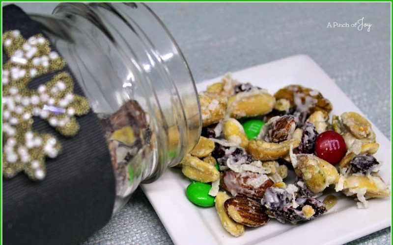 White Chocolate Nut Crunch