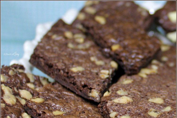 Buttery Brownie Bark